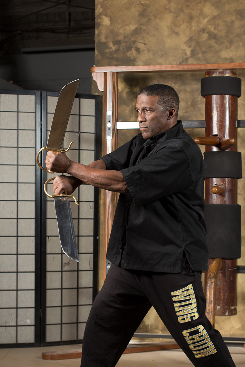 Butterfly Swords Master Phillip Redmond