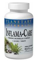 Inflama-Care, 30 tablets, planetary formulas