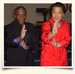 Sifu Redmond and Grand Master William Cheung