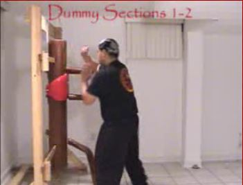 Wooden Dummy Sections 1-2
