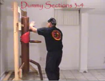 Wooden Dummy Section 3-4